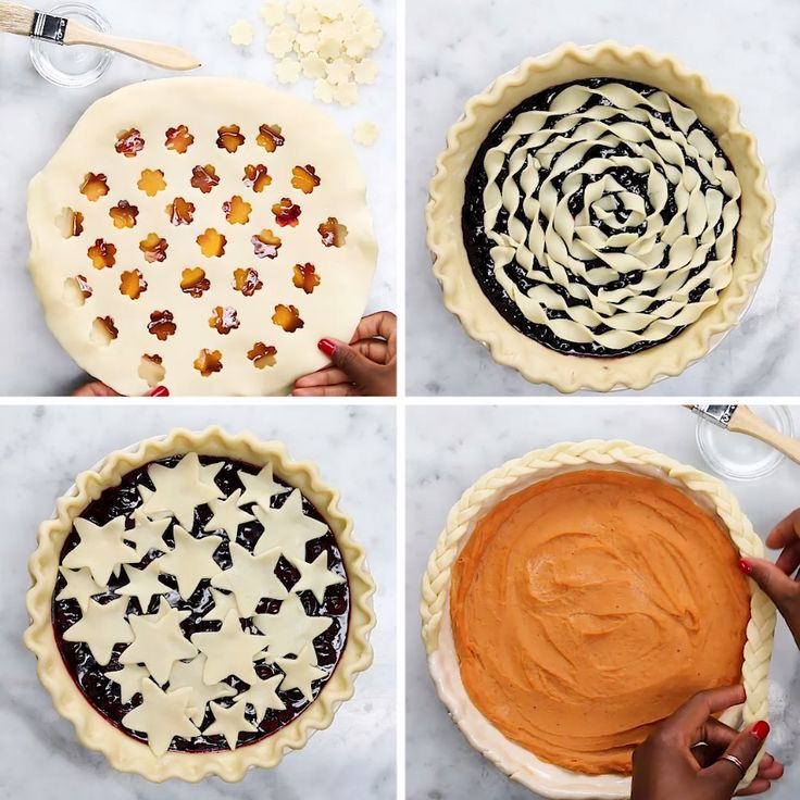 4 Amazing Ways To Decorate A Pie