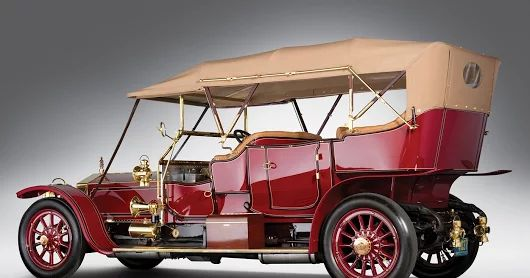 Ретро автомобили.Rolls-Royce Silver Ghost Roi des Belges Tourer,1911.