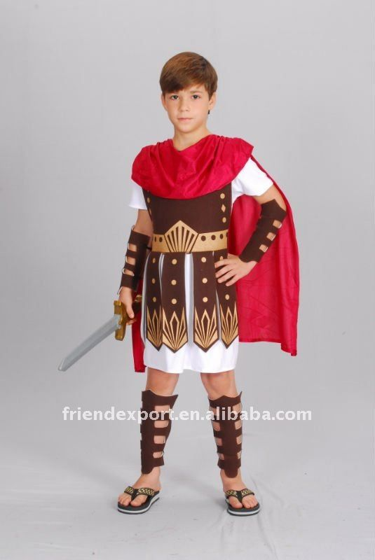 2012 new style children roman soldier costumes