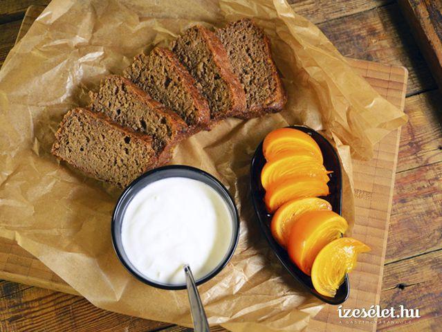 Fűszeres, narancsos mogyorótorta