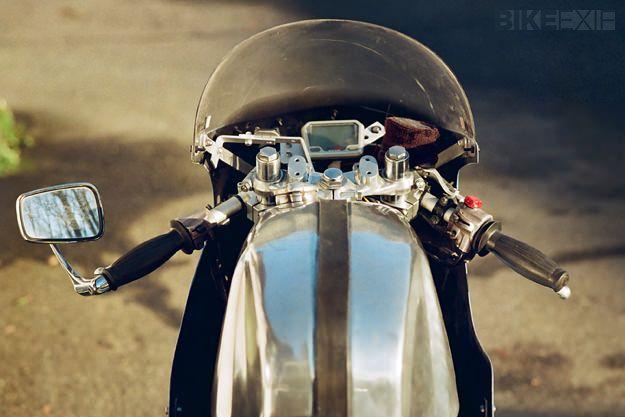 Honda CB550 cafe racer   Bike EXIF