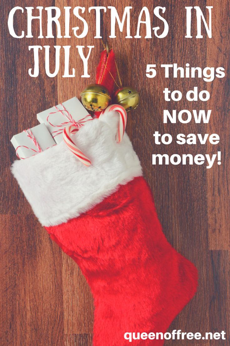 Do not bust your budget this year. Celebrate Christmas in July by getting your ducks in a row NOW. You will want to read this tips and put them into action right away.