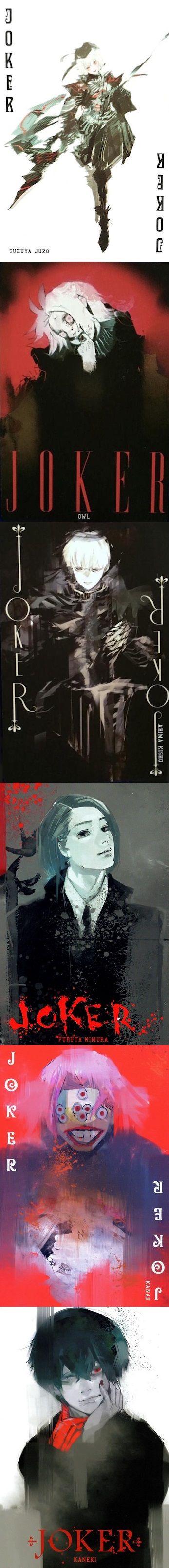 Tokyo Ghoul || Ishida Sui || Trump Cards || Jokers