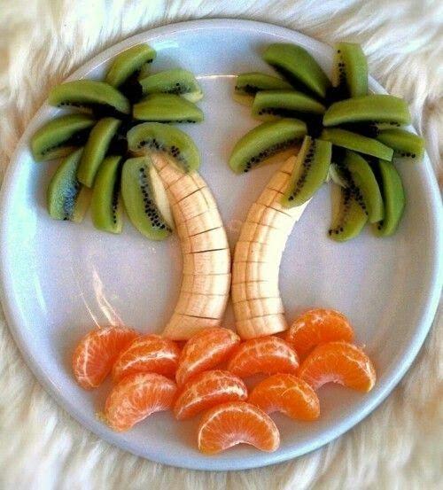 Réussir à leur faire manger des fruits!
