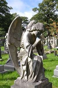 figures and angels among the headstones i will post a few examples in ...: Stones Angel, Cemetery Angels, Cemetari Angel, Guardians Angel, Angel Among Heavens, Graveyards Sculpture, Weeping Angel, Graveyards Angel, Angel Statues