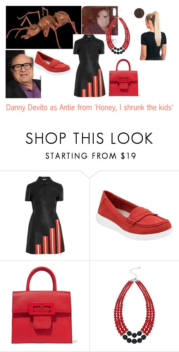 """Disney dream cast: Danny Devito as Antie from 'Honey I shrunk the kids'"" by sarah-m-smith ❤ liked on Polyvore featuring Fendi, Clarks, Maison Margiela and M&Co"