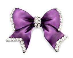 Mašľové ozdoby pre ženy na blúzky alebo saká. Ozdoba je vhodným darčekom pre každú ženu. www.luxusne-doplnky.eu