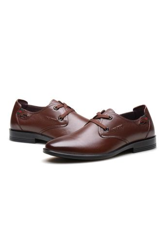 Buy AFS JEEP Men Fashion Business Leather shoes(Brown) online at Lazada  Malaysia.