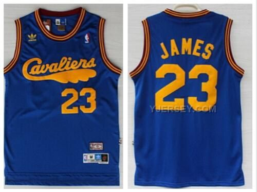 http://www.yjersey.com/nba-cleveland-cavaliers-23-james-blue-hardwood-classics-jerseys.html NBA CLEVELAND CAVALIERS 23 JAMES BLUE HARDWOOD CLASSICS JERSEYS Only $36.00 , Free Shipping!