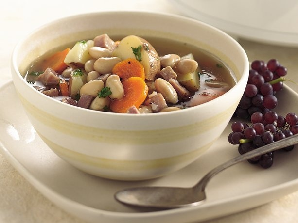 Slow-Cooker Tuscan Bean Soup   Recipe   Ham and beans, The ...