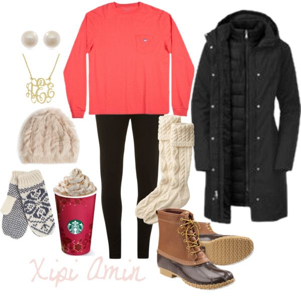 A fashion look from January 2014 featuring The North Face coats, Dorothy Perkins leggings and Toast socks. Browse and shop related looks.