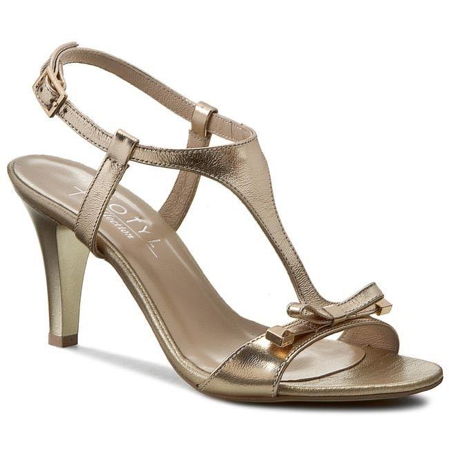 Sandály KOTYL - 4305 Zlatá