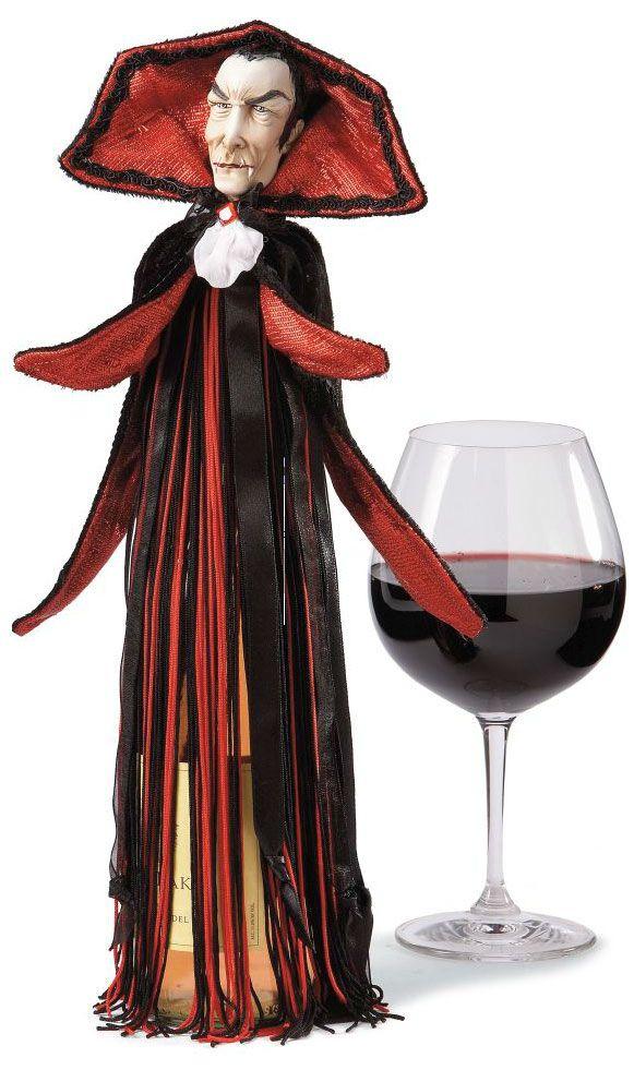 Capa para garrafas de vinho!