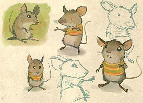 OLIOJOSMAN - La vida de un ratón