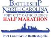 Port City Orthopaedics Battleship Half Marathon and Port Land Grille Battleship 5K