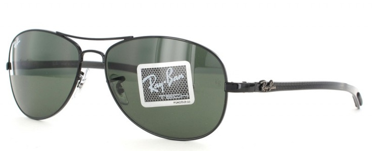 ray ban cockpit branche carbone