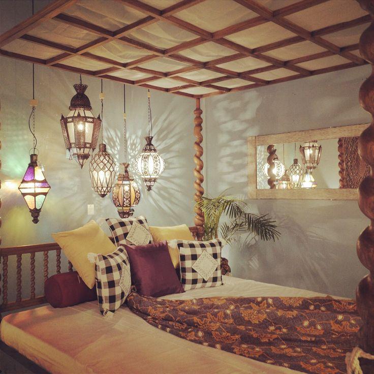 ジャワガラスランプ アジアン家具 KAJA リゾートファニチャー
