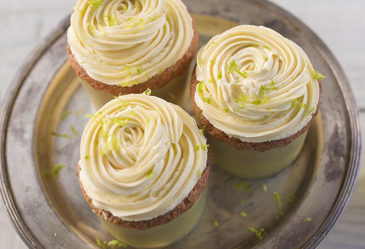 Sweet, tangy and bite-sized, these lemon curd cupcakes are the perfect afternoon treat.