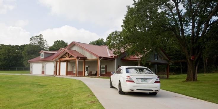 Morton Buildings Home In Oklahoma Dream Home Pinterest