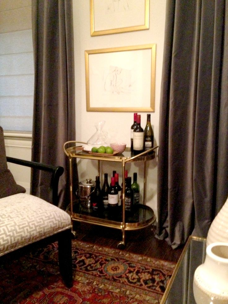 living room bar cart income property hgtv staging and decorating pinterest income. Black Bedroom Furniture Sets. Home Design Ideas