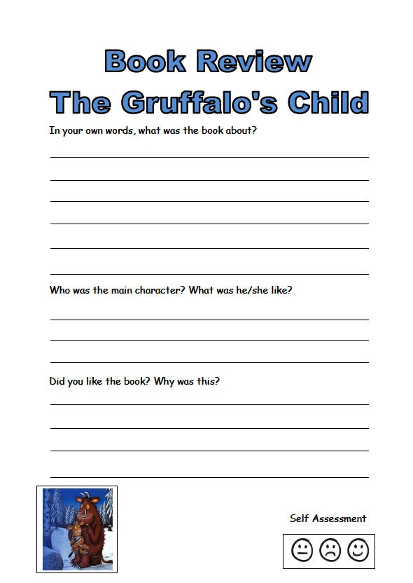 Gruffalo's Child activity book: A collection of resources based on the Julia Donaldson book The Gruffalo's Child. There are both literacy and numeracy activities included.