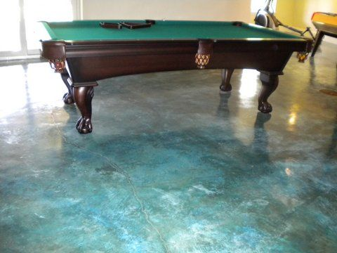 Tamped earth floor | Acid-Etched Stained Floors « Morehead City Decorative Concrete ...