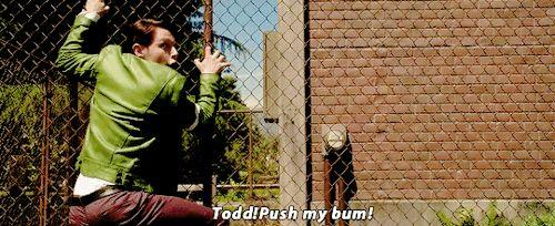 "Dirk Gently's Holistic Detective Agency ""Watkin"" (1x04) - ""Todd! Push my bum!"""