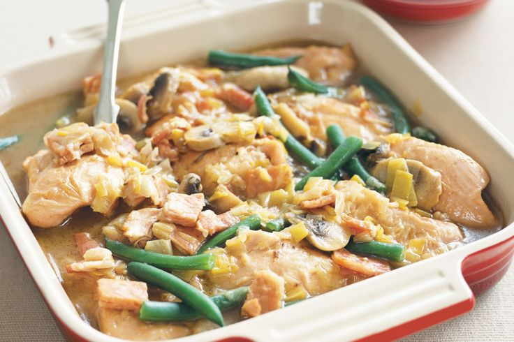 A hearty casserole is just what you need to warm up on a cold night and this one's a real winner!