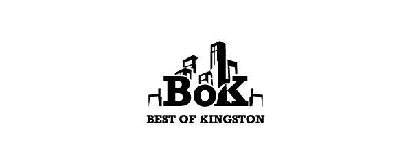 Best Of Kingston. Logo design by Antoine Chung.