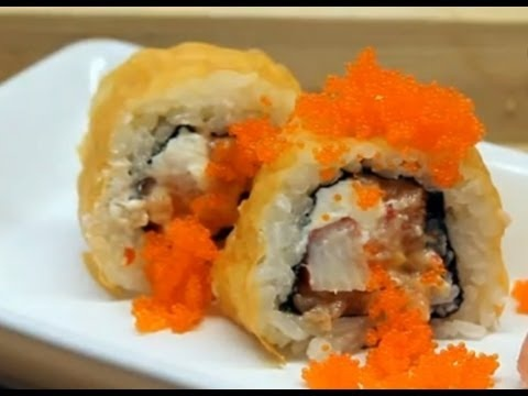 Orange Rolls | SUSHI ART | Pinterest
