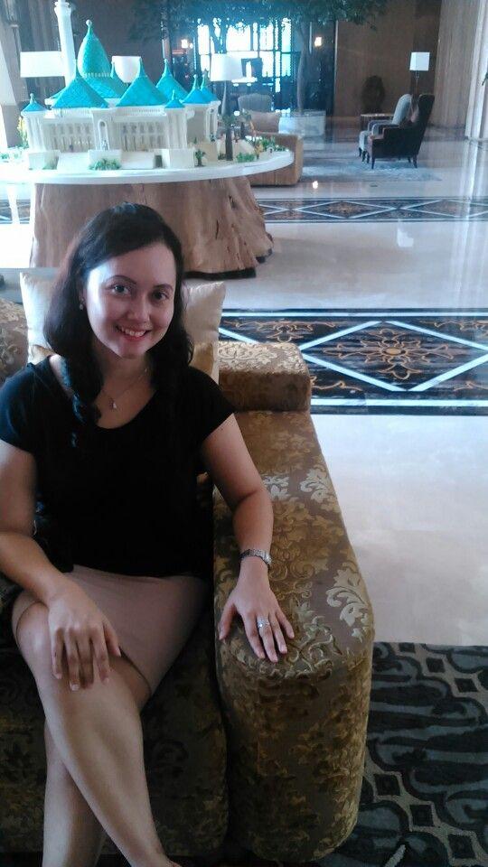 At Tentrem Hotel, Yogya