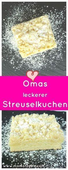 Knuspriger Streusel, lockerer Hefeteig, der Streuselkuchen schmeckt wie früher …   – Rezepte