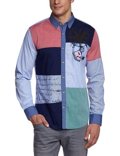 Desigual Men's Estrella Pola Shirt $97.17 (25% OFF)