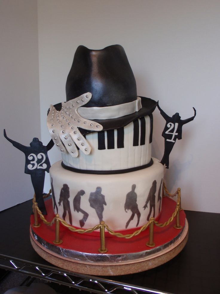 Michael Jackson Theme Birthday on Cake Central