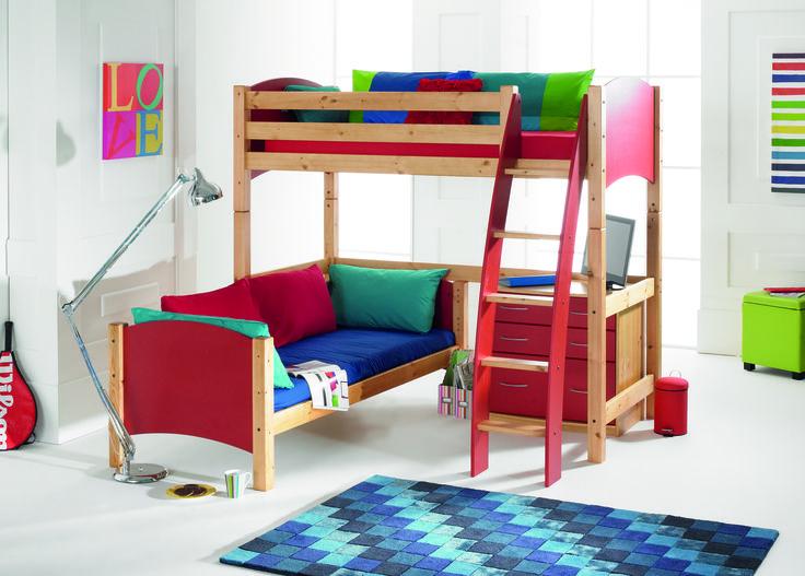 23 Best Kids High Sleeper Beds Images On Pinterest Kids