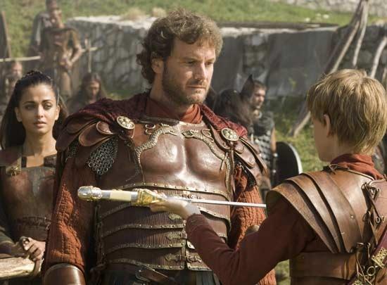 El General Aurelius (Colin Firth) en La Última Legión