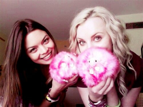 Scarlett Byrne and Evanna Lynch