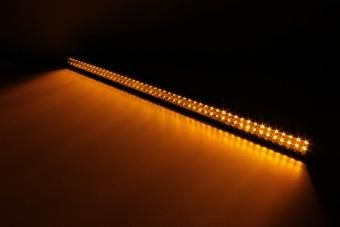 Amber LED Light Bar 40 Inch