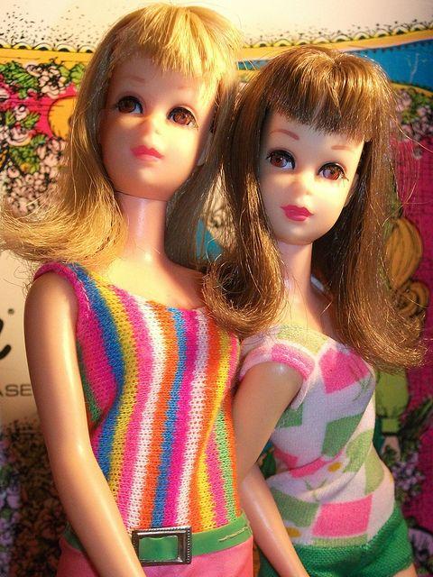 Francie  doll   x 2 by super.star.76, via Flickr
