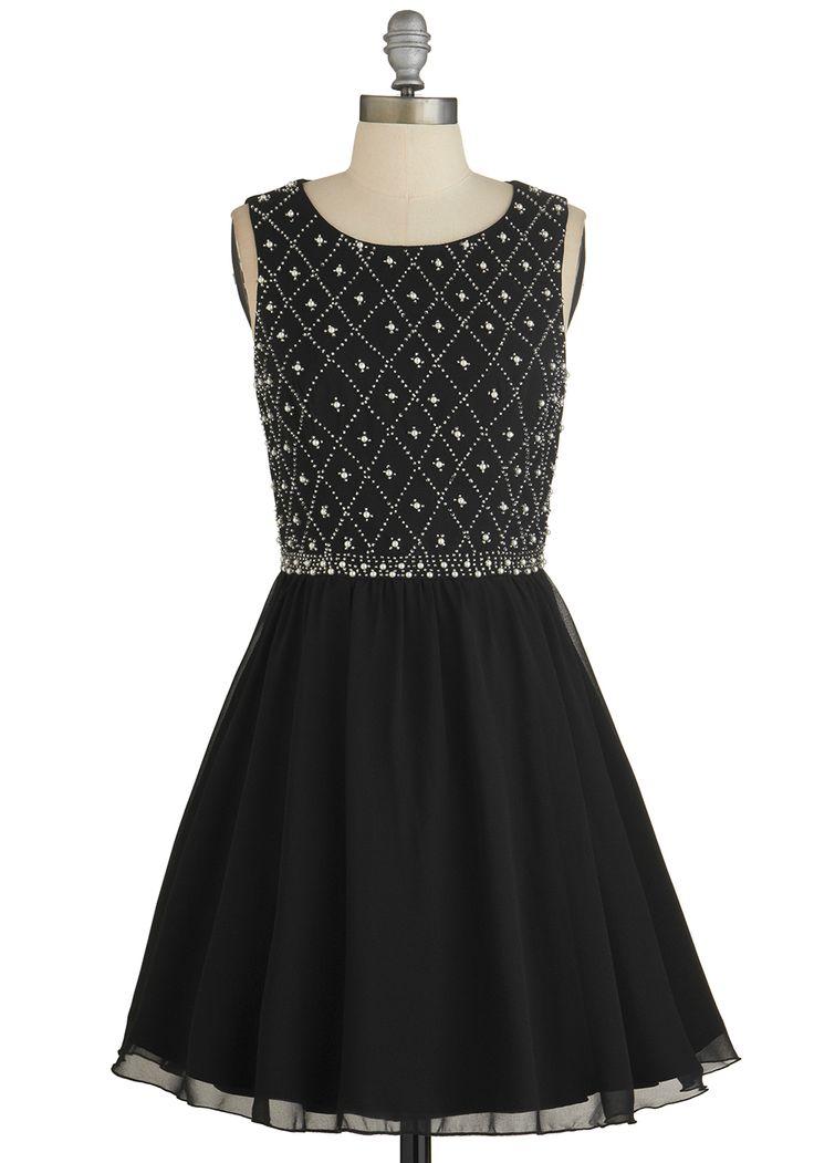 Night in Shining Glamour Dress   Mod Retro Vintage Dresses   ModCloth.com
