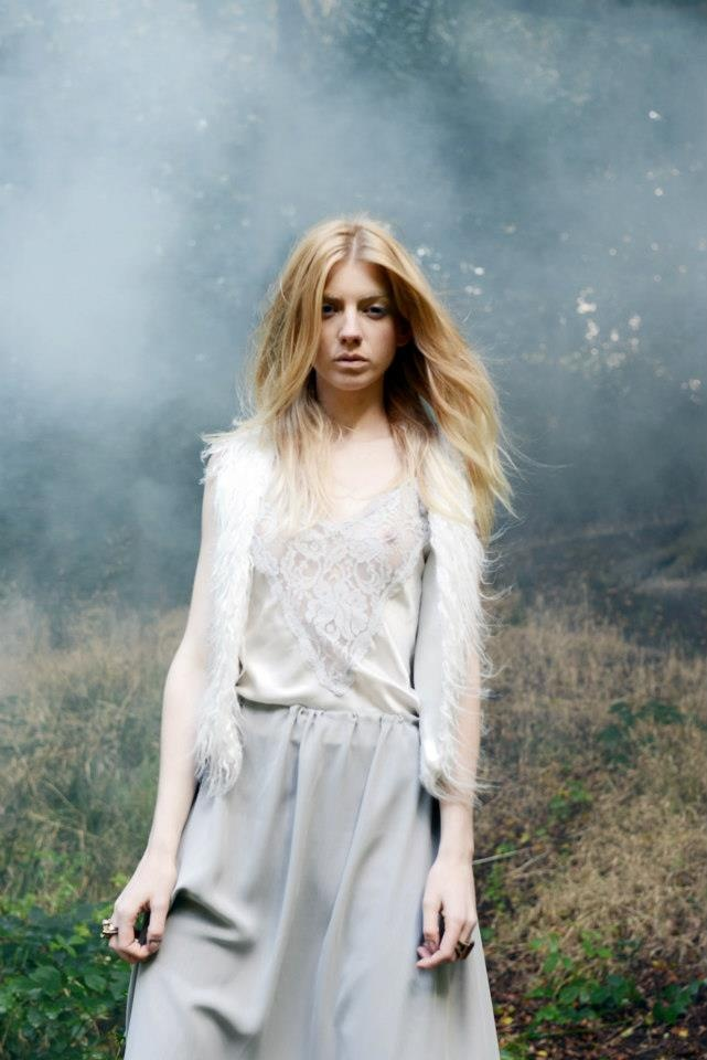 Light Forest. Photography: Kellianne Chandler Model: Hollie Swain Hair and Make up: Louise Devaney Styling: Rachel Smith
