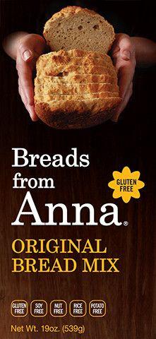 Gluten-Free Apple Pancake & Muffin Baking Mix - Breads from Anna