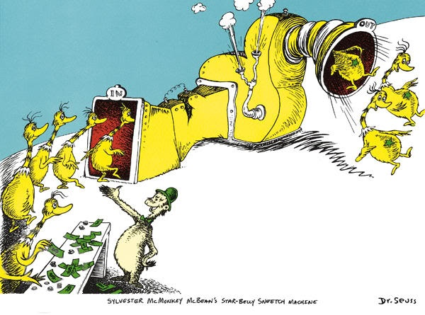 Star-Bellied Sneetches (From the wondrous mind of Dr. Seuss)