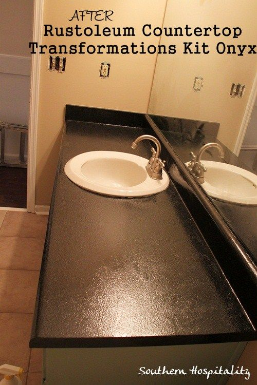 ... Countertop Transformation, Bathroom Countertops, Improvement, Bathroom