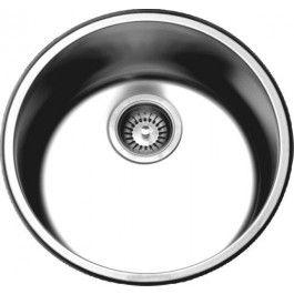 Dawn 3235 Drop In Round Stainless Steel Kitchen Sink