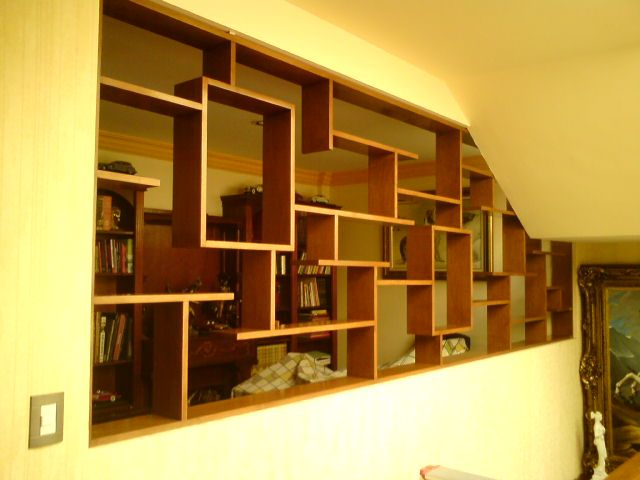 Pallet Projects Wall Shelves