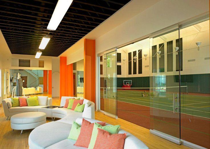9 best Amazing Indoor Tennis Courts images on Pinterest | Indoor ...