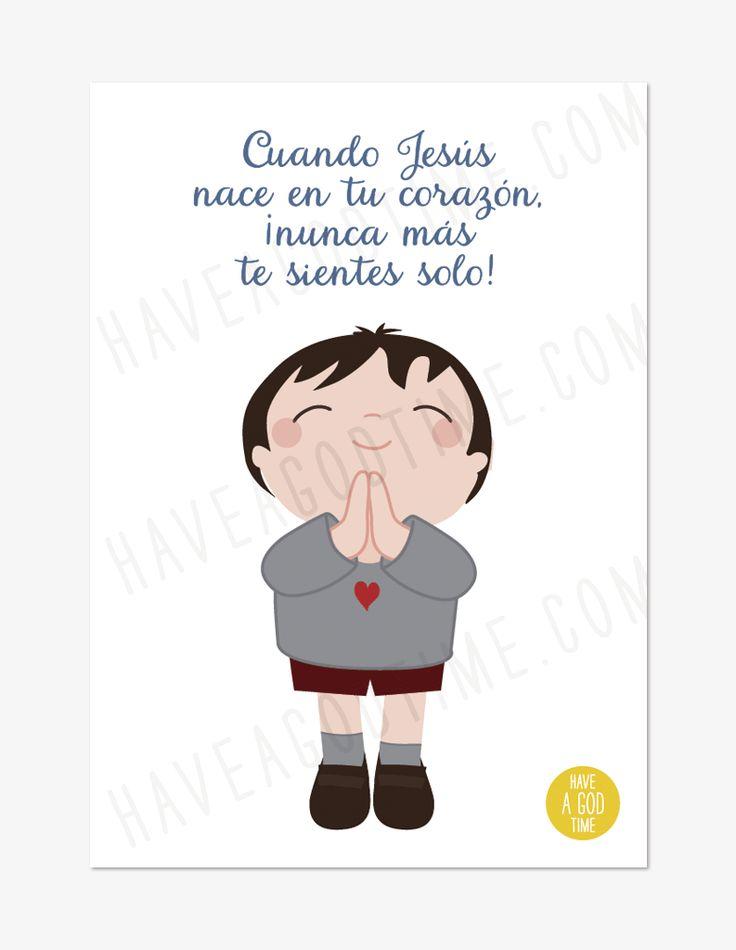"""TARJETA """"Cuando el Señor…"""""""