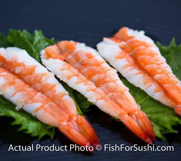 Butterfly Shrimp 寿司エビ (3.9 oz) | Fish-for-Sushi - ingredient for Nigiri