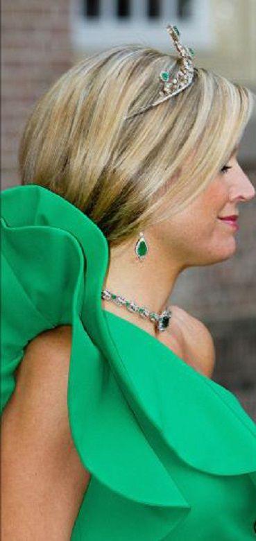 Queen Maxima at the gala dinner at palace Het Loo in Apeldoorn, June 3, 2014